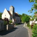 Eglise de Boigneville vue de la mairie